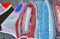Modèles de crochet Images stock