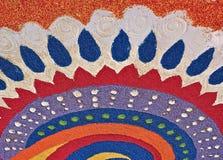 Modèles de Deepavali Rangoli illustration stock