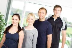 modèles de gymnastique de forme physique Photos stock