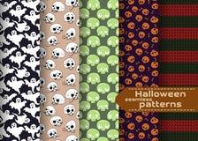 Modèles de Halloween réglés Photographie stock libre de droits