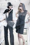 Modèles de mode Photographie stock libre de droits