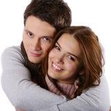 Modèles de mode comme couples image stock