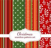 Modèles de Noël Image stock