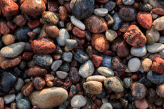 Modèles de plage Photographie stock libre de droits