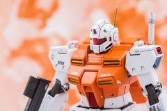 Modèles de plastique d'échelle de Gundam Photo libre de droits