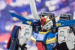 Modèles de plastique d'échelle de Gundam Photos stock