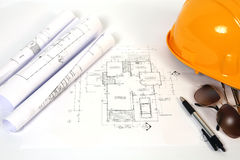 Modèles de retrait de construction Photographie stock