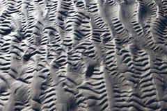Modèles de sable photographie stock libre de droits