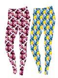 Modèles de tissu pour l'habillement de sports Image libre de droits