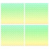 Modèles de zigzag abstraits en pastel sans couture Images stock