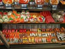 Modèles en plastique de nourriture images stock