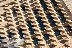 Modèles et lignes géométriques abstraits architecturaux Photographie stock
