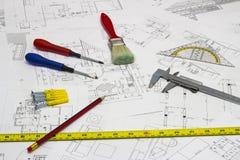 Modèles et outils Photo libre de droits
