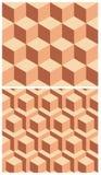 Modèles géométriques. Photographie stock