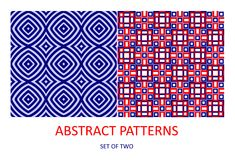 Modèles géométriques abstraits Photographie stock libre de droits