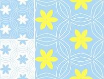 Modèles géométriques d'ensemble multicolore dans la couleur lumineuse Image stock