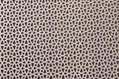 Modèles géométriques, ornement de style islamique couvert de placage de noix image stock