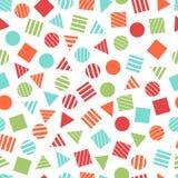 Modèles géométriques primitifs sans couture pour le tissu et les cartes postales Photo libre de droits