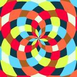 Modèles géométriques sans couture abstraits Kaléidoscope sans couture Photos libres de droits