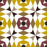 Modèles géométriques sans couture abstraits Kaléidoscope sans couture Photo stock