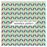 Modèles géométriques sans couture de vecteur Texture abstraite de mode Photos stock