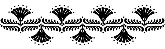 Modèles hongrois de motifs Image stock