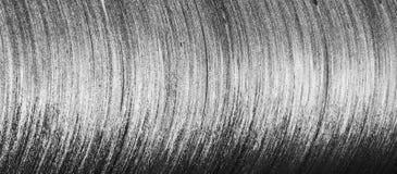 Modèles métalliques incurvés de texture Photographie stock libre de droits