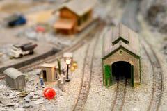 Modèles miniatures images stock