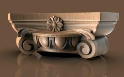 Modèles pour la conception intérieure architecturale, 3D illustration, artiste, texture, conception graphique, architecture, illu illustration de vecteur
