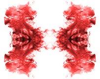 Modèles rouges d'encre. Photo libre de droits