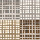 Modèles sans couture avec des cordes Image stock