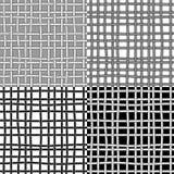 Modèles sans couture avec des cordes Image libre de droits