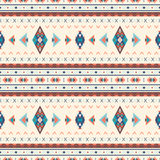 Modèles sans couture de boho ethnique Ornement abstrait de cru Vecteur Photos stock