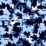 Modèles sans couture de camouflage de Digital Photographie stock libre de droits