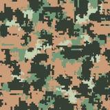 Modèles sans couture de camouflage de Digital Photo stock