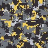 Modèles sans couture de camouflage de Digital Photographie stock