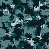 Modèles sans couture de camouflage de Digital Photos stock