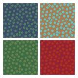 Modèles sans couture de cercle géométrique Image libre de droits