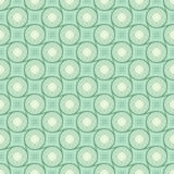Modèles sans couture de rétro vecteur différent en bon état Photographie stock