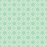 Modèles sans couture de rétro vecteur différent en bon état Image stock