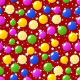 Modèles sans couture de thème de sucrerie illustration libre de droits