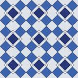 Modèles sans couture géométriques de harlequin Photo libre de droits
