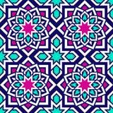 Modèles sans couture islamiques réglés Collection géométrique arabe de fond Éléments décoratifs de vecteur Répétez le contexte po illustration de vecteur