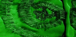 Modèles Vert Dégagez, mais souple, parce qu'il a un Wei plus léger Images libres de droits