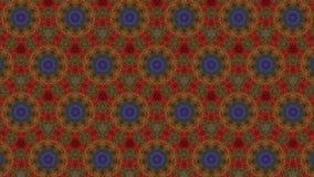 Modèles virtuels d'ordre de kaléidoscope, infini ou boucle sans couture clips vidéos