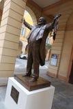 MODÈNE, ITALIE, octobre 2017 - inauguration du monument à Luciano Pavarotti Photos stock