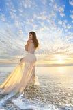 Modélisation nuptiale photographie stock libre de droits