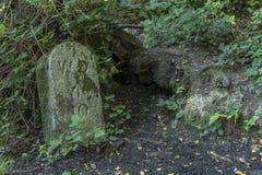 MoD标志维多利亚国家公园军事公墓 库存图片