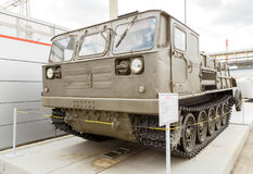 Mod трактора ATS-59G артиллерии 1959 Pyshma, Екатеринбург, Russi Стоковые Изображения RF