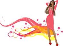 mod dziewczyny Zdjęcie Royalty Free
